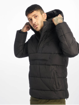 Urban Classics Gewatteerde jassen Pull Over Puffer zwart