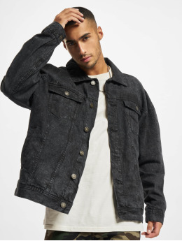 Urban Classics Giacca Jeans Oversized Denim  nero