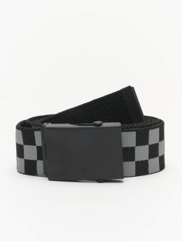 Urban Classics Gürtel Adjustable Checker  noir