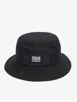 Urban Classics Hat Canvas Logo black