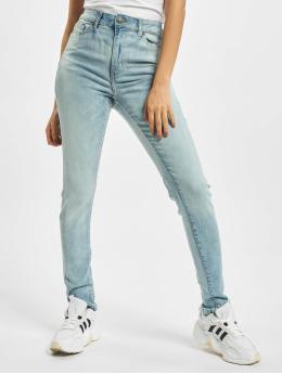 Urban Classics High Waisted Jeans Ladies High Waist blauw