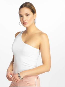 Urban Classics Hihattomat paidat Asymmetric  valkoinen