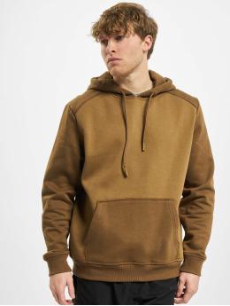Urban Classics Hoodie 2-Tone Fake Raglan brown