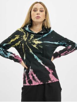 Urban Classics Hoodies Tie Dye čern