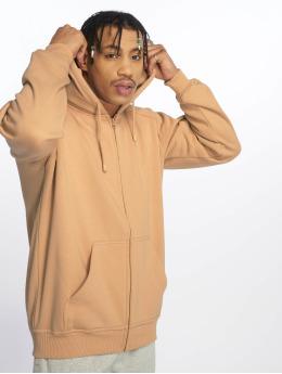 Urban Classics Hoodies con zip Blank beige