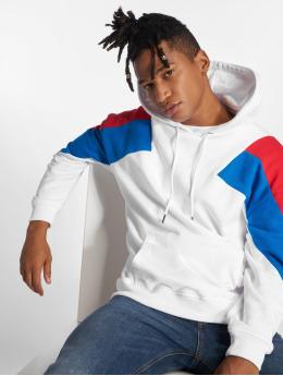 Urban Classics Hoodies Oversize 3-Tone hvid