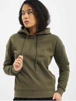 Urban Classics Hoodies Ladies Organic oliven
