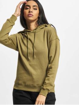 Urban Classics Hoodies Ladies olivový