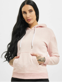 Urban Classics Hoody Ladies  rosa