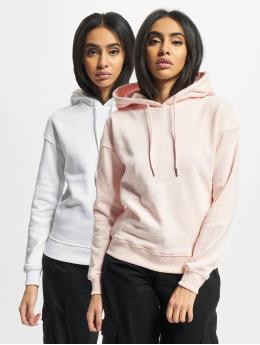 Urban Classics Hoody Ladies 2-Pack wit