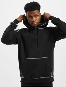 Urban Classics Hoody Contrast Stitching zwart