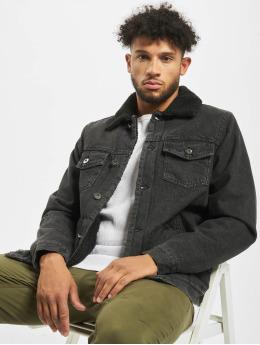 Urban Classics Jean Bundy Sherpa Lined Jeans èierna