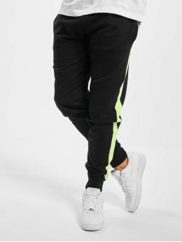 Urban Classics Joggebukser Neon Striped  svart