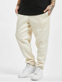 Urban Classics joggingbroek Cut And Sew beige