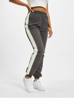 Urban Classics joggingbroek Piped  grijs