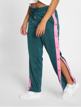 Urban Classics / joggingbroek Button Up in groen