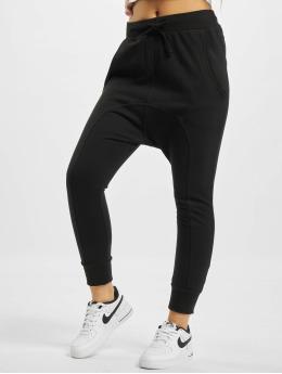 Urban Classics joggingbroek Light Fleece Sarouel zwart