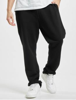Urban Classics joggingbroek Organic Low Crotch  zwart