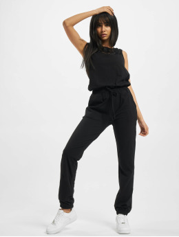 Urban Classics Jumpsuit Ladies Lace Block schwarz