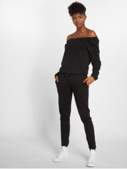 Urban Classics jumpsuit Terry zwart