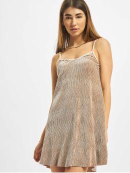 Urban Classics jurk Velvet beige