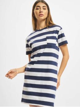 Urban Classics jurk Stripe Boxy blauw