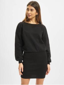 Urban Classics jurk Off Shoulder zwart