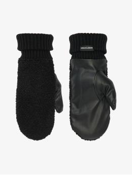 Urban Classics Käsineet Sherpa Imitation Leather musta