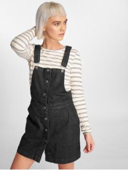 Urban Classics Kleid Denim Dungarees schwarz