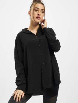 Urban Classics Košile Viscose Oversize čern