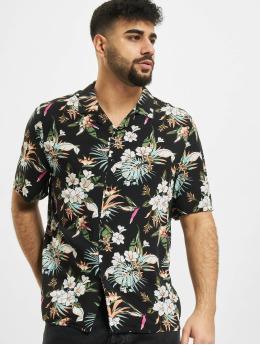 Urban Classics Koszule Viscose Aop czarny