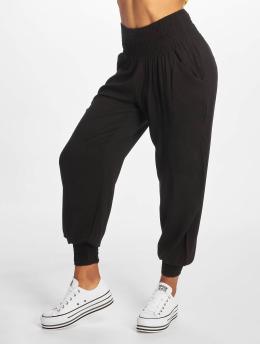 Urban Classics Látkové kalhoty Sarong  čern