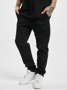 Urban Classics Látkové kalhoty Knitted  čern