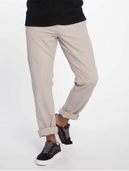 Urban Classics Látkové kalhoty Basic šedá