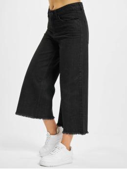 Urban Classics Løstsittende bukser Denim  svart