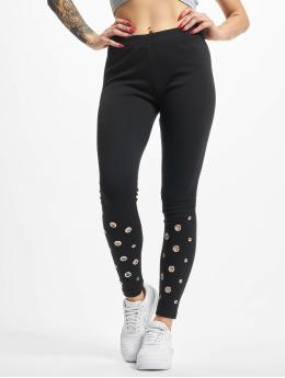 Urban Classics Legging Eyelet noir