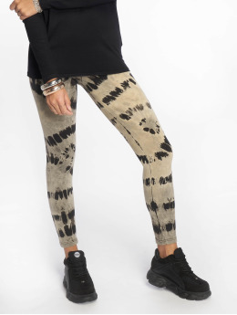 Urban Classics Legging Ladies Acid Wash Splash schwarz