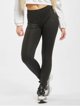 Urban Classics Legging Ladies Pattern zwart