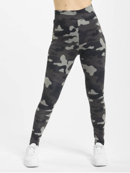 Urban Classics Leggings High Waist Camo Tech kamouflage