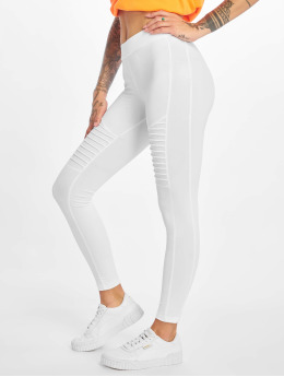 Urban Classics Leggings/Treggings Tech Biker hvit