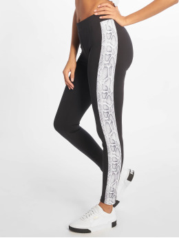 Urban Classics Leggings/Treggings Side Striped Pattern svart