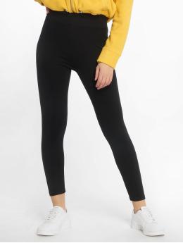 Urban Classics Leggingsit/Treggingsit High Waist Jersey musta