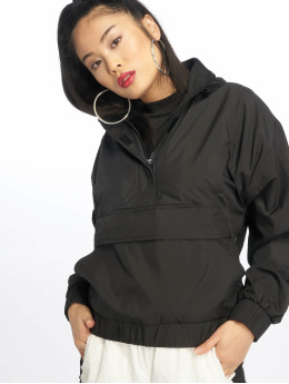 Urban Classics Lightweight Jacket Panel Pull Over  black