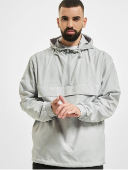 Urban Classics Lightweight Jacket Basic Pull Over gray