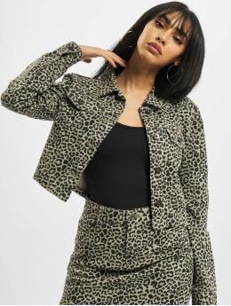 Urban Classics Lightweight Jacket Ladies Short AOP grey