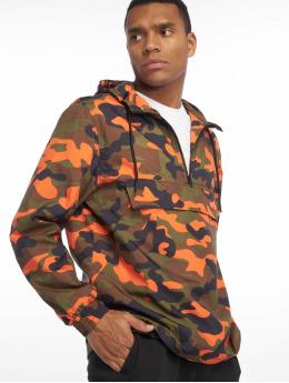 Urban Classics Lightweight Jacket Camo orange