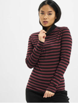 Urban Classics Longsleeve Ladies Y/D Turtleneck LS rot