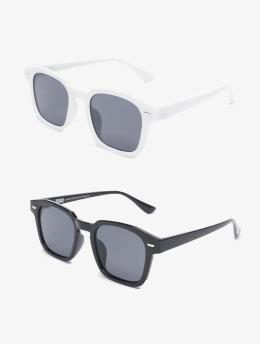 Urban Classics Lunettes de soleil Sunglasses Symi 2-Pack noir