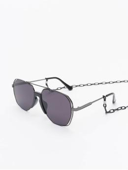 Urban Classics Lunettes de soleil Sunglasses Karphatos With Chain noir