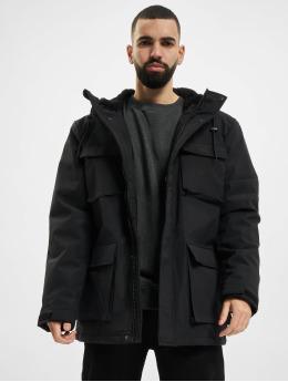 Urban Classics Manteau hiver Field Winter noir